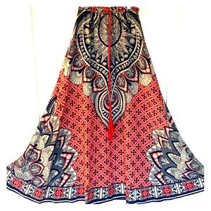 Flying Tomato Boho Maxi Skirt